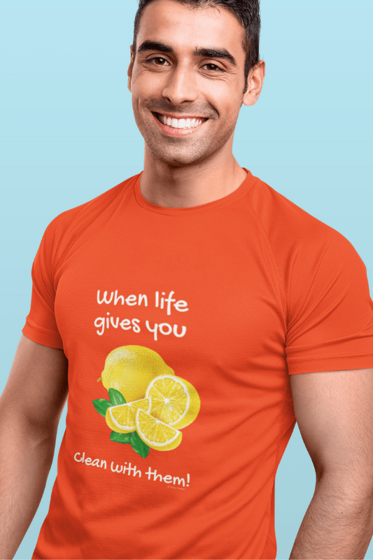 When Life Gives You Savvy Cleaner Funny Cleaning Shirts Comfort T-Shirt