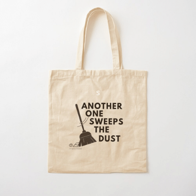 Another One Sweeps The Dust Savvy Cleaner Funny Cleaning Gifts Cotton Tote Bag