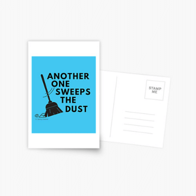 Another One Sweeps The Dust Savvy Cleaner Funny Cleaning Gifts Postcard