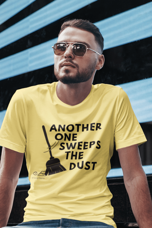 Another One Sweeps the Dust Savvy Cleaner Funny Cleaning Shirts Comfort Tee
