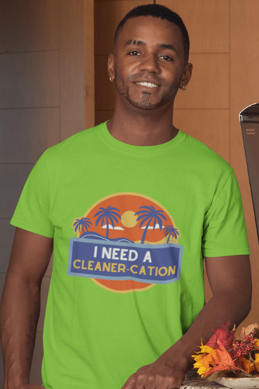 Cleaner-Cation Savvy Cleaner Funny Cleaning Shirts Classic T-Shirt