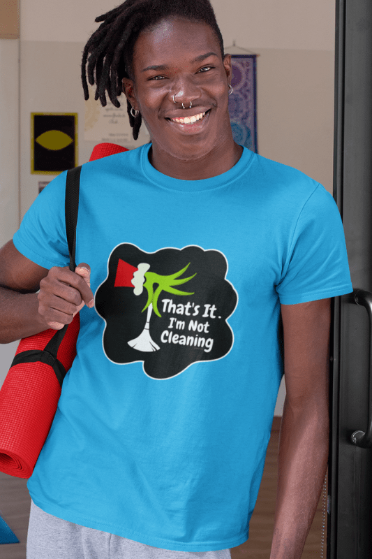 I'm Not Cleaning Savvy Cleaner Funny Cleaning Shirts Premium T-Shirt