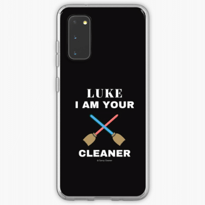 Luke I Am Your Cleaner Savvy Cleaner Funny Cleaning Gifts Samsung Phone Case