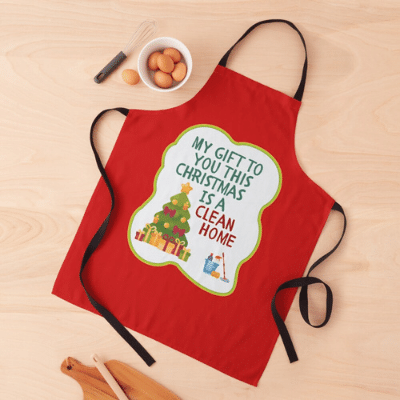 My Gift to You This Christmas Savvy Cleaner Funny Cleaning Gifts Apron