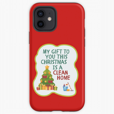 My Gift to You This Christmas Savvy Cleaner Funny Cleaning Gifts Iphone Case