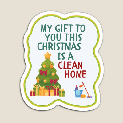 My Gift to You This Christmas Savvy Cleaner Funny Cleaning Gifts Magnet