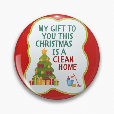My Gift to You This Christmas Savvy Cleaner Funny Cleaning Gifts Pin