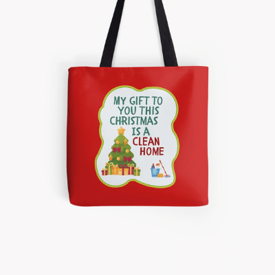 My Gift to You This Christmas Savvy Cleaner Funny Cleaning Gifts Tote Bag
