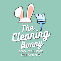 285 Cleaning Bunny Savvy Cleaner Funny Cleaning Shirts A