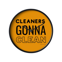 Cleaners Gonna Clean Savvy Cleaner Funny Cleaning Gifts Clock