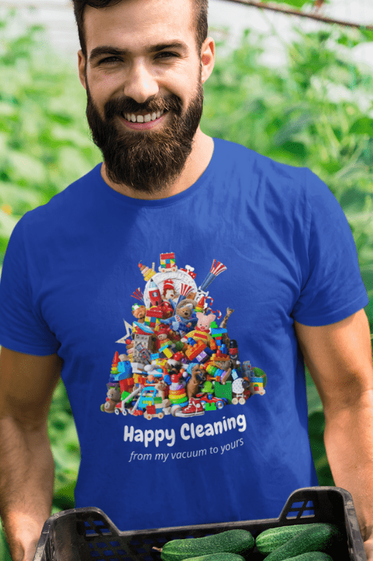 Happy Cleaning Savvy Cleaner Funny Cleaning Shirts Premium T-Shirt