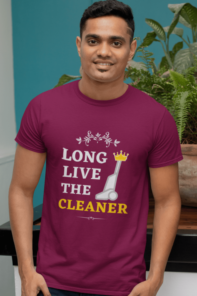 Long Live the Cleaner Savvy Cleaner Funny Cleaning Shirts Premium T-Shirt