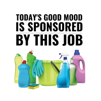311 Todays Good Mood Savvy Cleaner Funny Cleaning Shirts A
