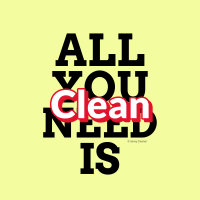 317 All You Need is Clean Savvy Cleaner Funny Cleaning Shirts A
