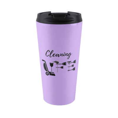Cleaning Life Savvy Cleaner Funny Cleaning Gifts Travel Mug