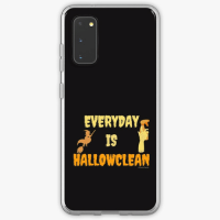 Everyday is Hallowclean Savvy Cleaner Funny Cleaning Gifts Samsung Phone Case