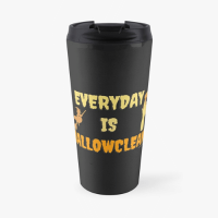 Everyday is Hallowclean Savvy Cleaner Funny Cleaning Gifts Travel Mug