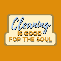 329 Good for the Soul Savvy Cleaner Funny Cleaning Shirts A