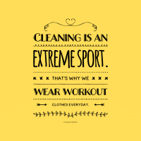 343 Cleaning is An Extreme Sport Savvy Cleaner Funny Cleaning Shirts A