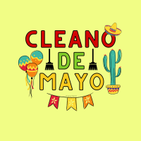 359 Cleano De Mayo Savvy Cleaner Funny Cleaning Shirts A