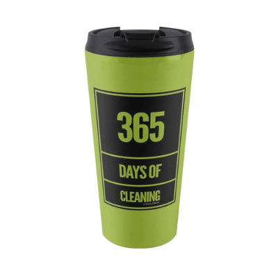 365 Days of Cleaning Savvy Cleaner Funny Cleaning Gifts Travel Mug