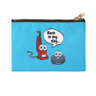 Back In My Day Savvy Cleaner Funny Cleaning Gifts Zipper Pouch