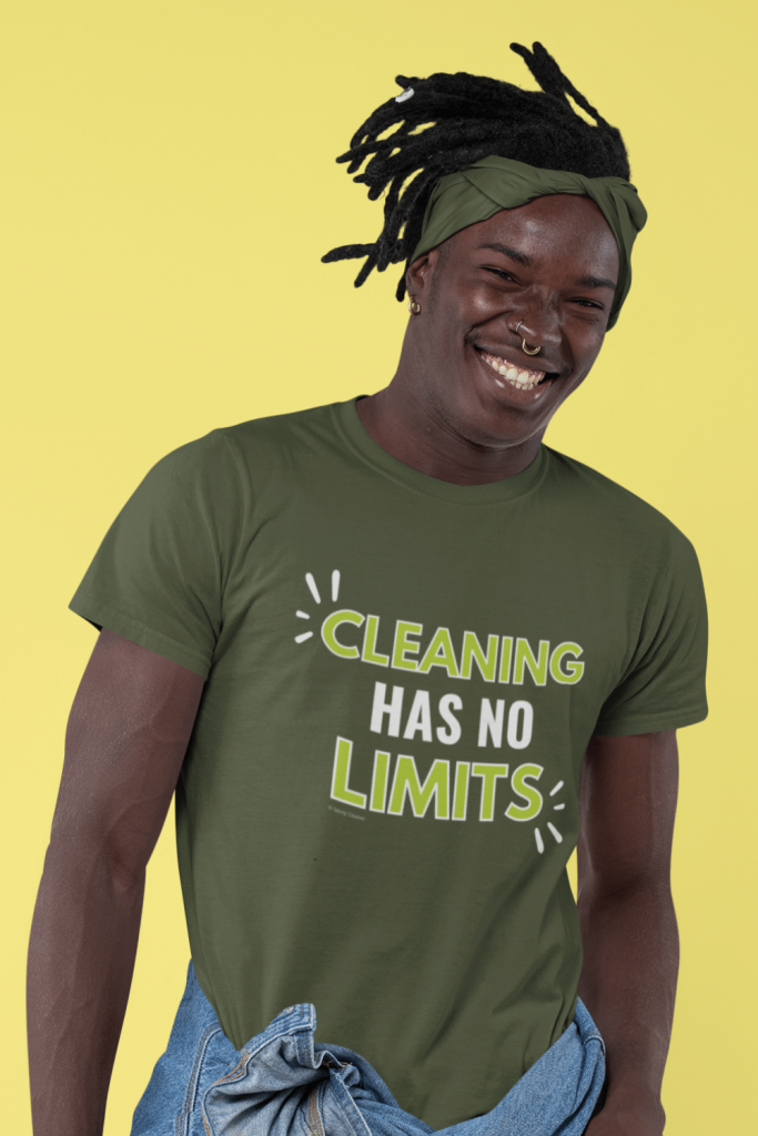 Cleaning Has No Limits Savvy Cleaner Funny Cleaning Shirts Standard Tee
