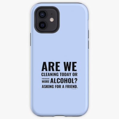Cleaning Today Savvy Cleaner Funny Cleaning Gifts Iphone Case