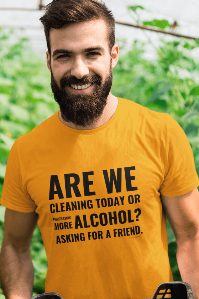 Cleaning Today Savvy Cleaner Funny Cleaning Shirts Classic Tee
