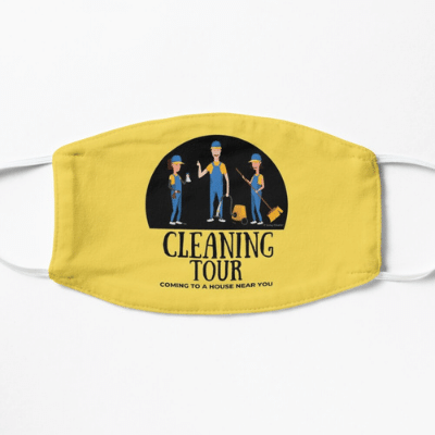 Cleaning Tour Savvy Cleaner Funny Cleaning Gifts Facemask