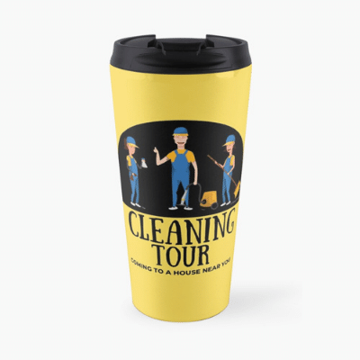 Cleaning Tour Savvy Cleaner Funny Cleaning Gifts Travel Mug