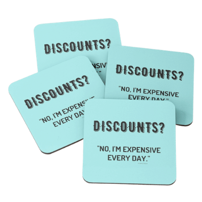 Discounts Savvy Cleaner Funny Cleaning Gifts Coasters