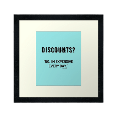 Discounts Savvy Cleaner Funny Cleaning Gifts Framed Art Print