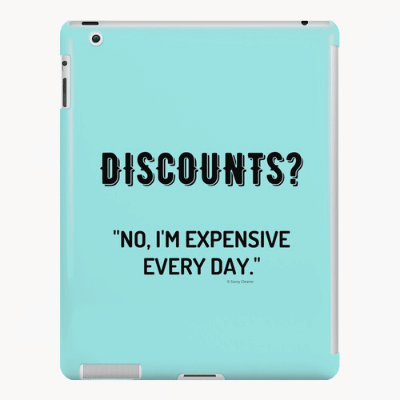 Discounts Savvy Cleaner Funny Cleaning Gifts Ipad Case