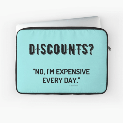 Discounts Savvy Cleaner Funny Cleaning Gifts Laptop Sleeve
