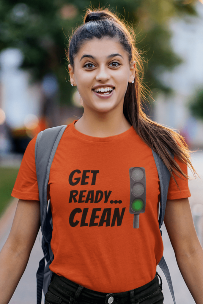 Get Ready Clean Savvy Cleaner Funny Cleaning Shirts Women's Standard Tee