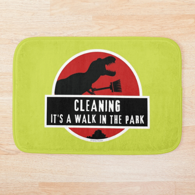 Walk in the Park Savvy Cleaner Funny ClWalk in the Park Savvy Cleaner Funny Cleaning Gifts Bathmateaning Gifts Bathmat