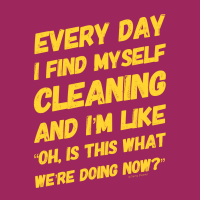 146 I Find Myself Cleaning Savvy Cleaner Funny Cleaning Shirts