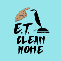 383 ET Clean Home Savvy Cleaner Funny Cleaning Shirts A