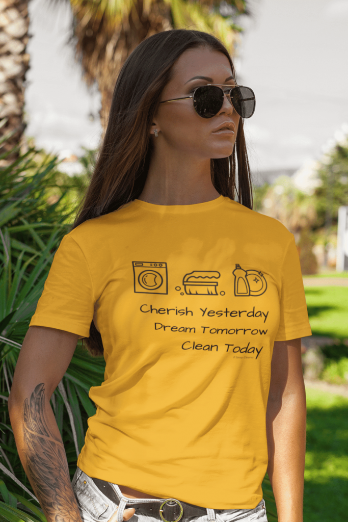 Clean Today Savvy Cleaner Funny Cleaning Shirts Classic Tee