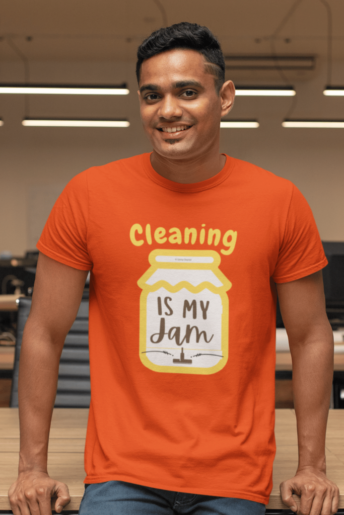 Cleaning Is My Jam Savvy Cleaner Funny Cleaning Shirts Classic Tee