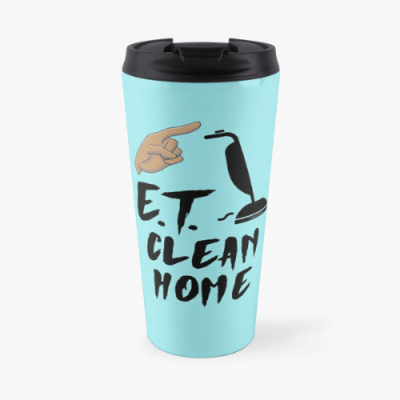 ET Clean Home Savvy Cleaner Funny Cleaning Gifts Travel Mug