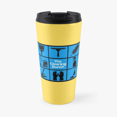 The Cleaning Bunch Savvy Cleaner Funny Cleaning Gifts Travel Mug