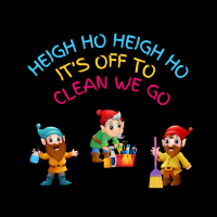 403 Off to Clean We Go Savvy Cleaner Funny Cleaning Shirts (2)