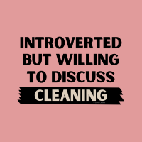 416 Introverted Savvy Cleaner Funny Cleaning Shirts B