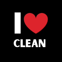 426 I Love Clean Savvy Cleaner Funny Cleaning Shirts B