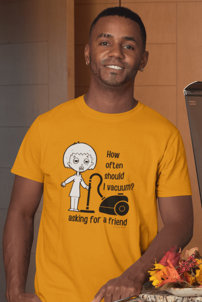 Asking for a Friend Savvy Cleaner Funny Cleaning Shirts Classic T-Shirt