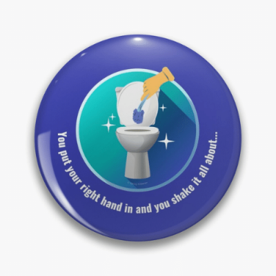 Shake it All About Savvy Cleaner Funny Cleaning Gifts Pin