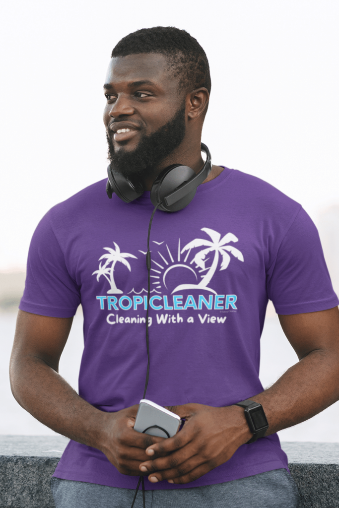 Tropicleaner Savvy Cleaner Funny Cleaning Shirts Men's Standard Tee