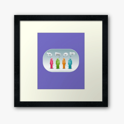 12 Toilets Savvy Cleaner Funny Cleaning Gifts Framed Art